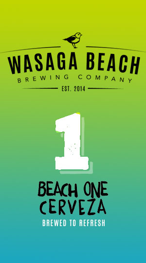 Beach One Cerveza - Wasaga Beach